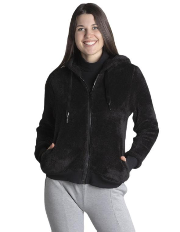 Woman sherpa Fluo&Black