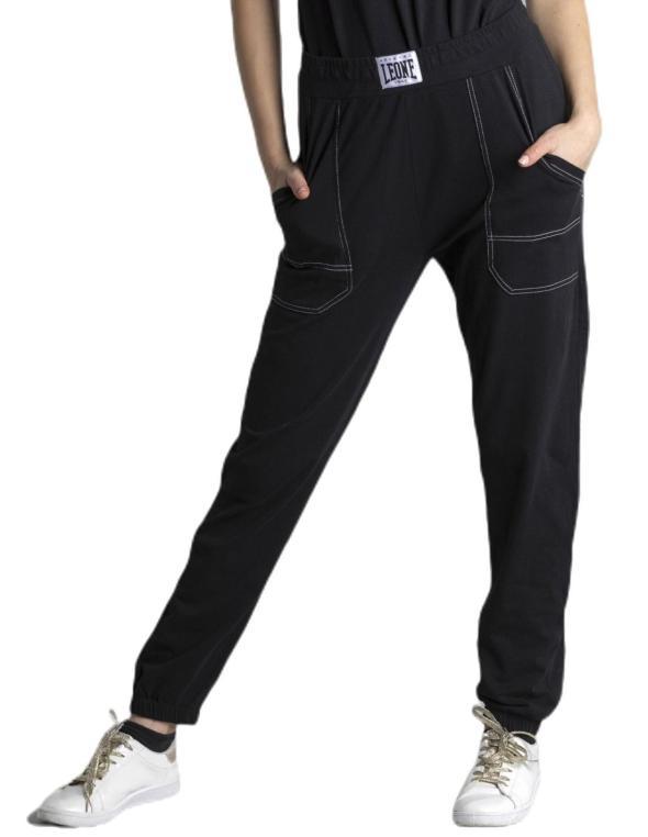 Pantaloni in heavy jersey...
