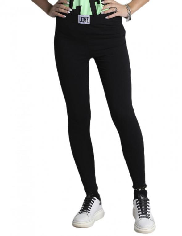 Woman sweatpants Fluo&Black