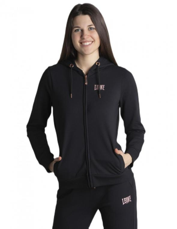Woman hoody full zip Premium