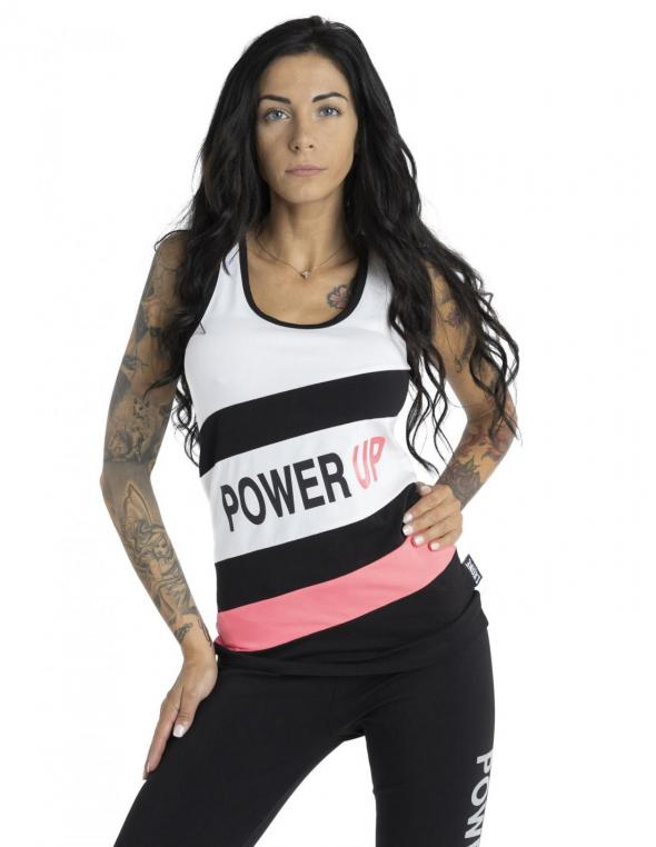 Woman tank Power Up