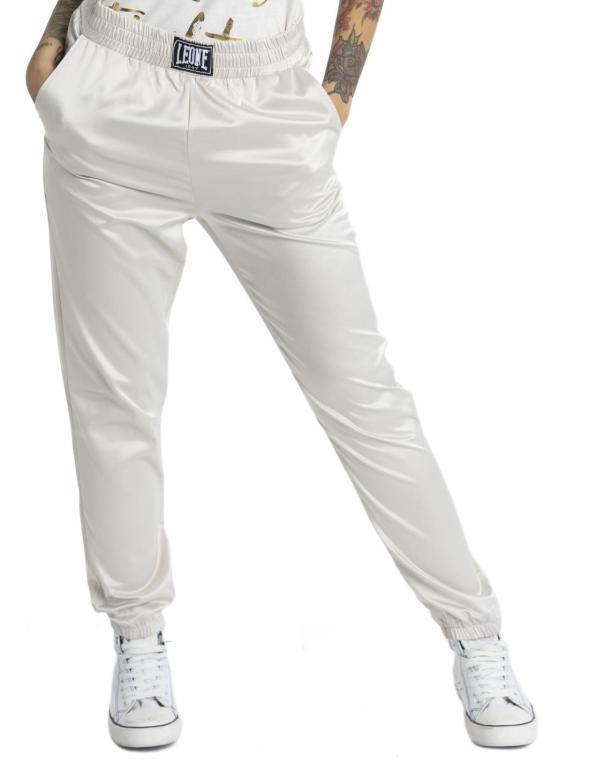 Pantaloni in satin da donna...