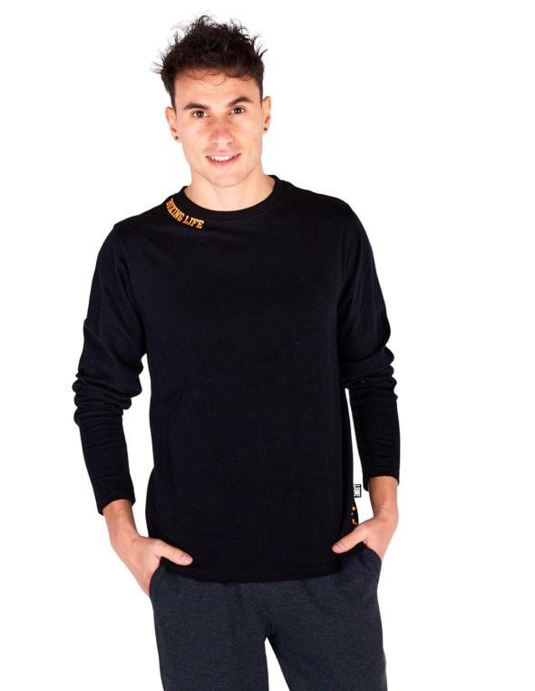 T-shirt con manica lunga e...