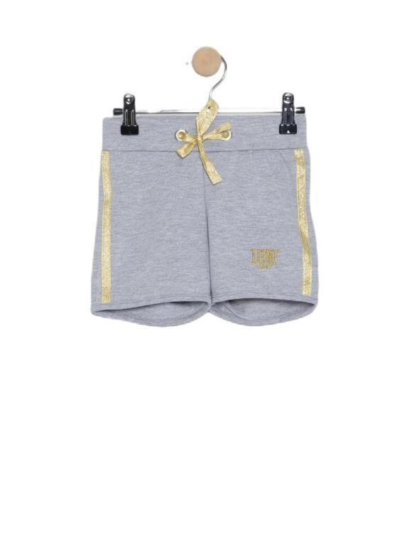 Girl short sweatpants Lurex