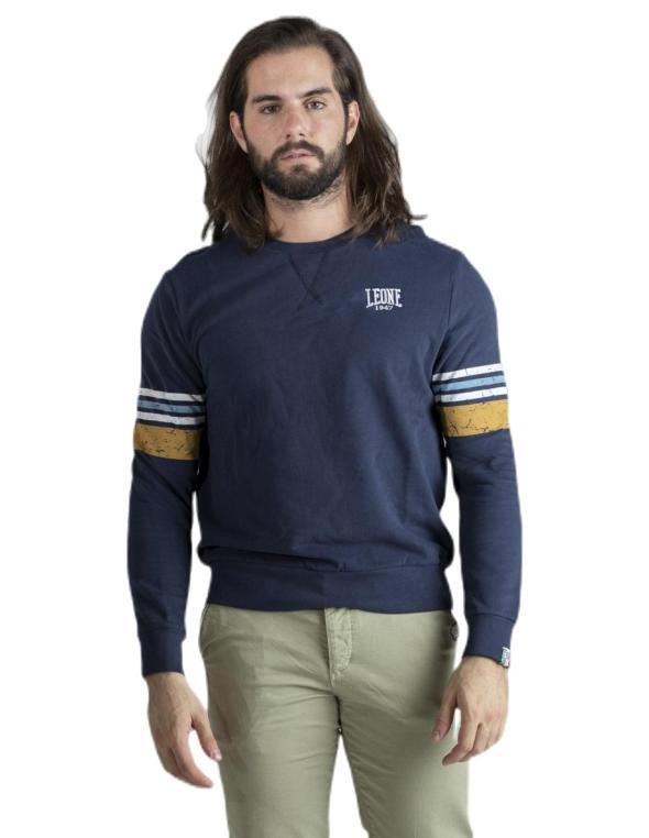 Man crewneck sweatshirt Stripe