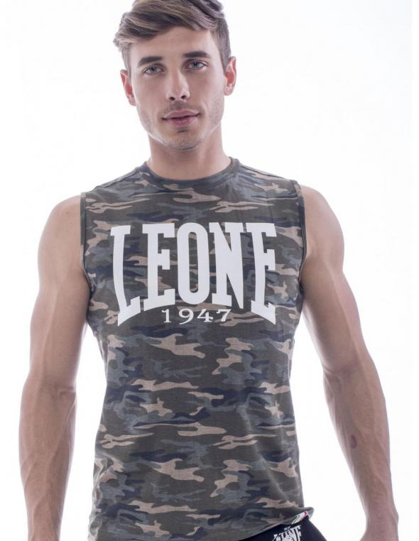 Man sleeveless T-shirt Camou