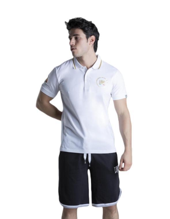 Man polo short sleeves Gold