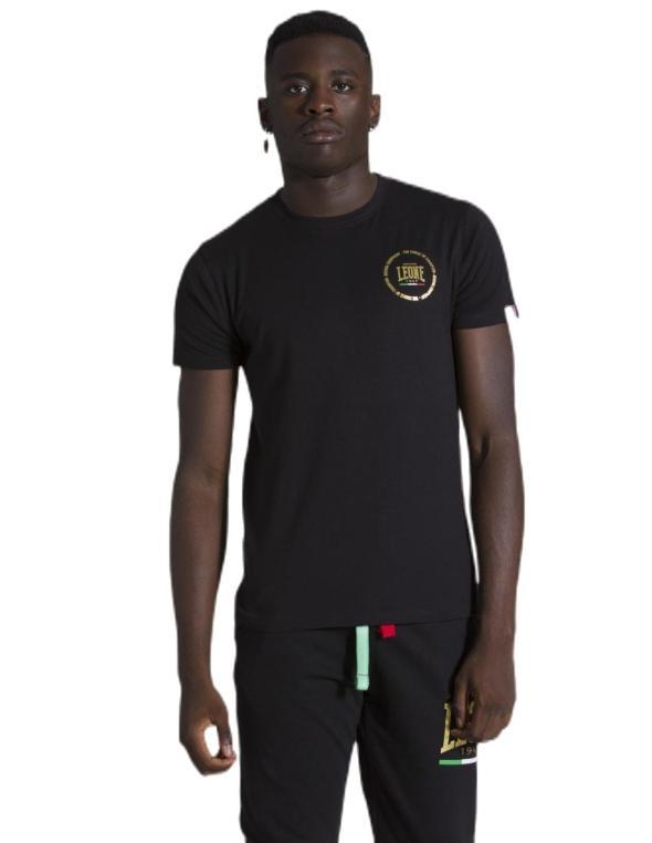 Man T-shirt short sleeves Gold