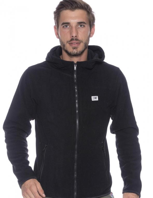MAN HOODY ZIPPED POLAR FLEECE