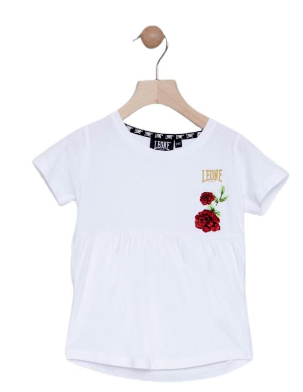 T-shirt da bambina maniche...