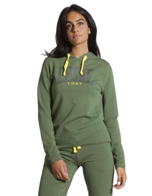 Woman hoody Military Neon