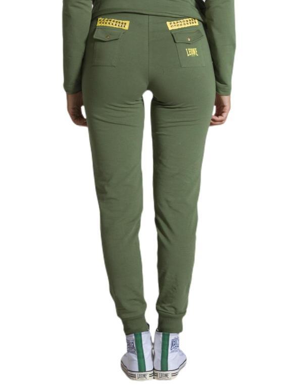 Woman sweatpants Military Neon