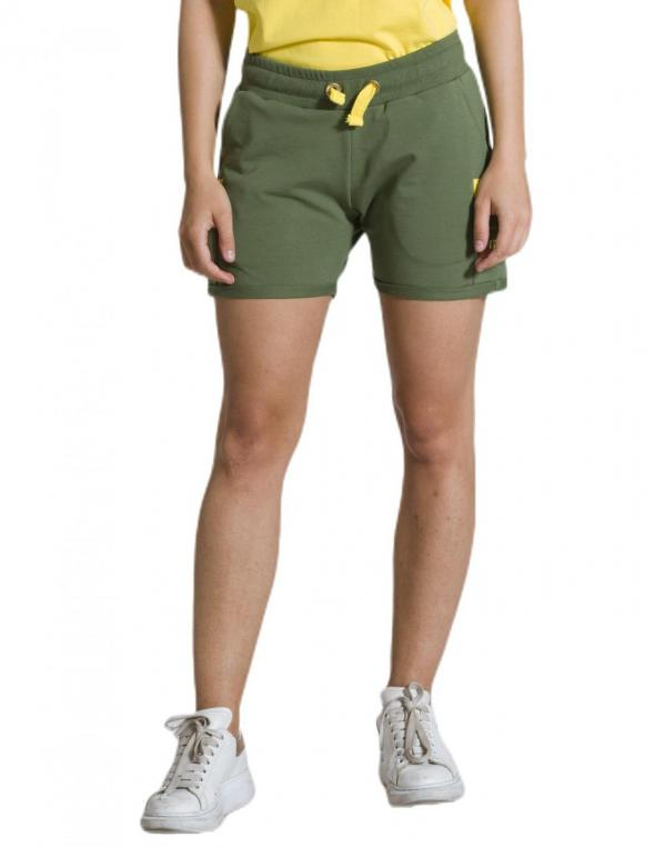 Woman short Military Neon