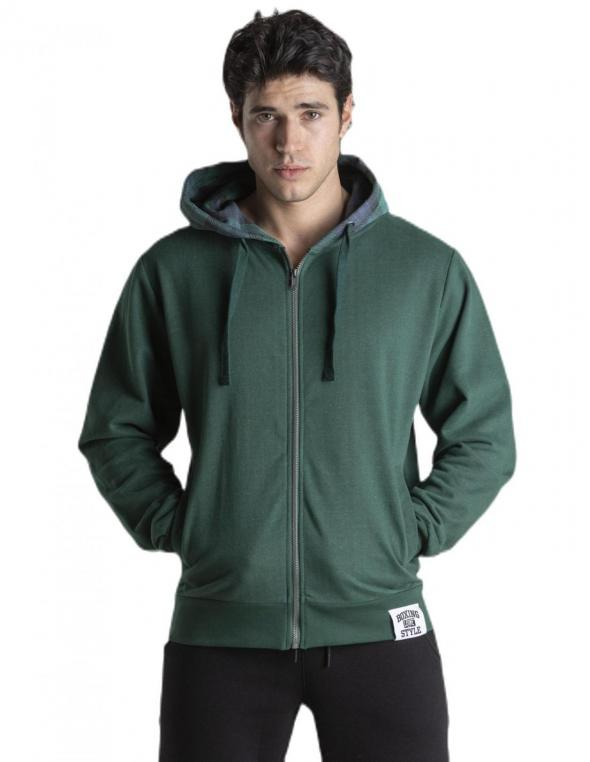 Man hoody full zip Highlands