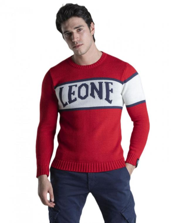 Girocollo Leone logo in...