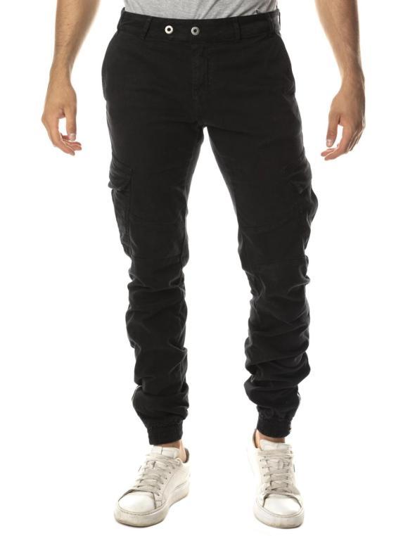 Pantaloni sport cargo da...