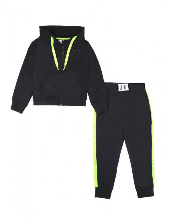 Girl tracksuits Fluo&Black